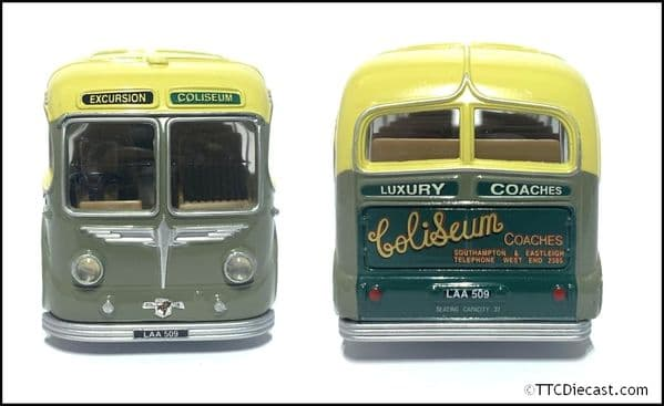CORGI 97178 BURLINGHAM SEAGULL - Coliseum Coaches * PRE OWNED *